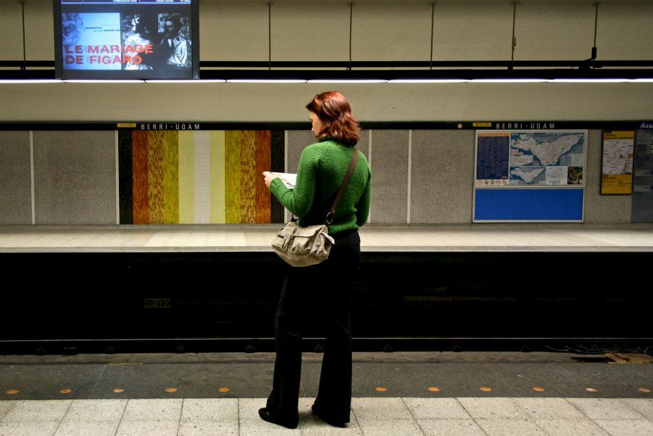 Métro Station Berri