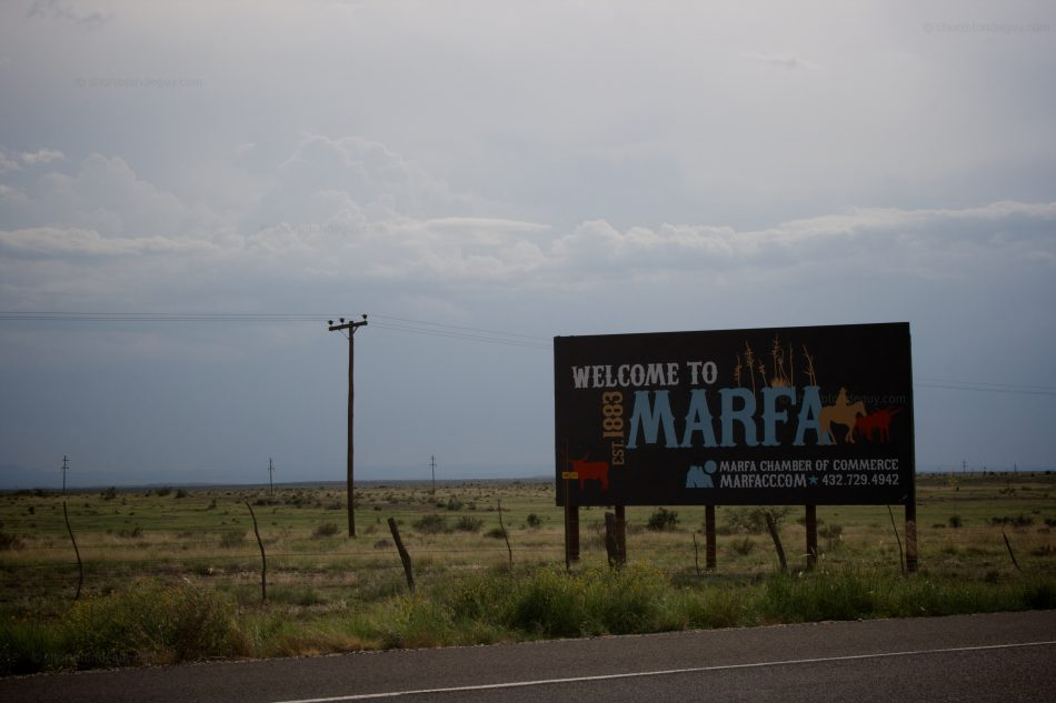 Welcome to Marfa