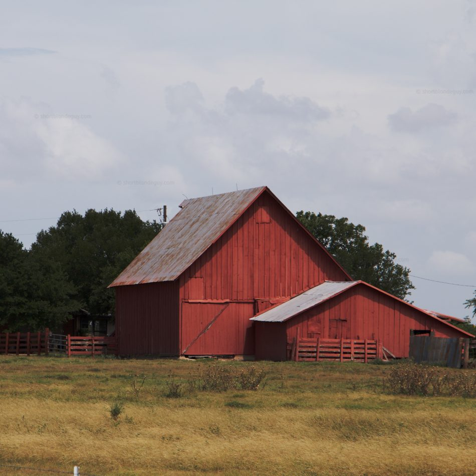 Cute Little Red Barns